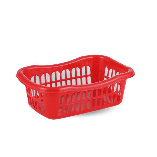 Fancy Basket  24 CM-Red
