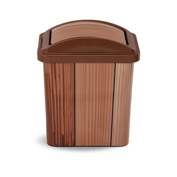 Flip And Clean Dust Bin 10L