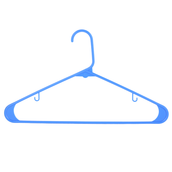 Light Shirt Hanger 42CM 6 Pcs Set -SM Blue