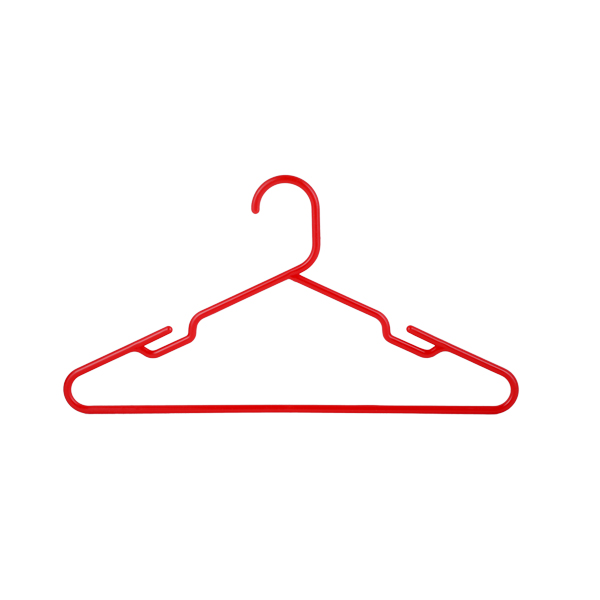 Shirt Hanger 41CM 6 Pcs Set-Red