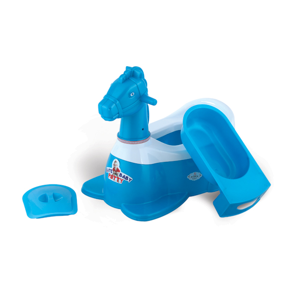 Horse Baby Potty - Blue