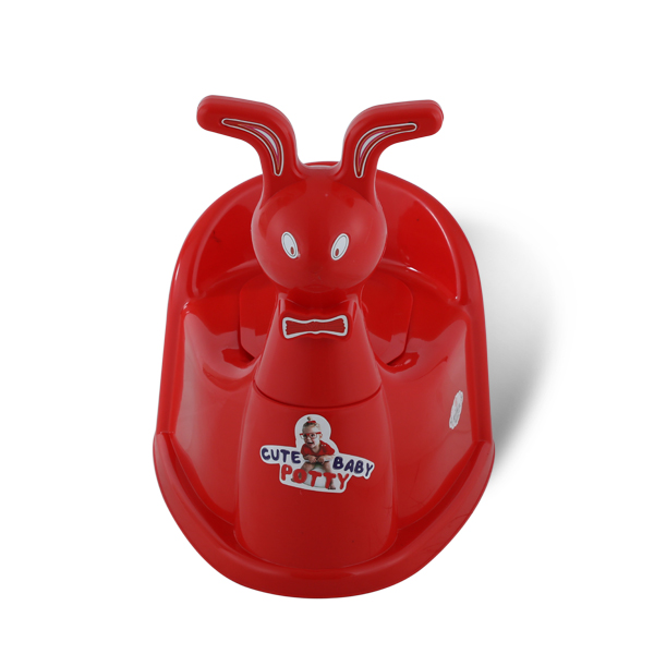 Rabbit Baby Potty -Red
