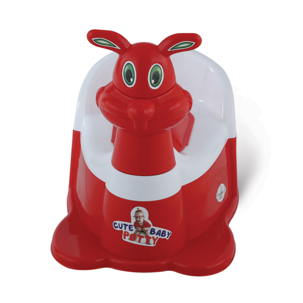 Bunny Baby Potty - Red