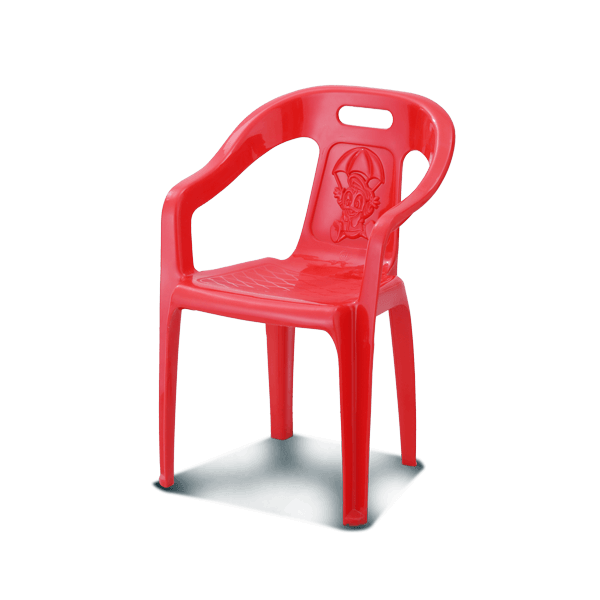 Chair-Baby-Plastic-Red
