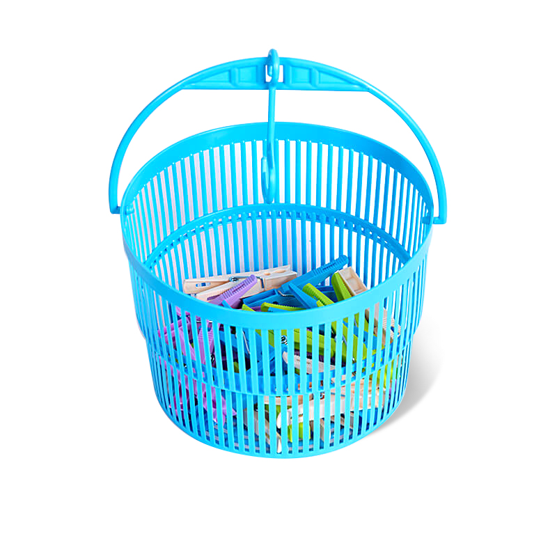 Clip Basket With 24 Pcs Clip-Assorted