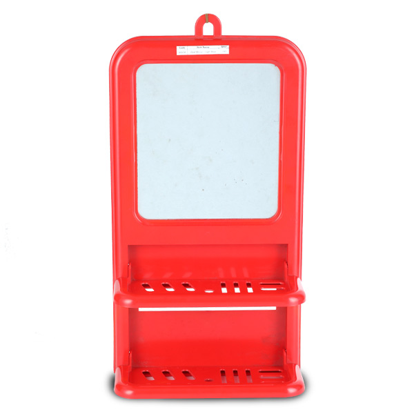 Wall Mirror - Red