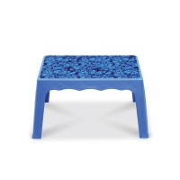Center Table Printed Marine - SM Blue